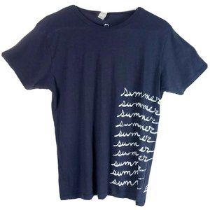 Womens Summer Rental T Shirt Handmade in NY Pima